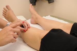 Acupunctuur knie tegen pijn